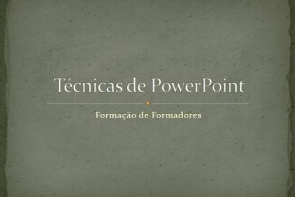 Técnicas PowerPoint 2007