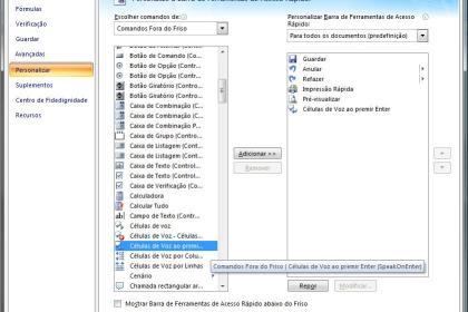 Excel - Células de Voz
