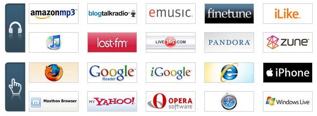 Top 2008 web sites