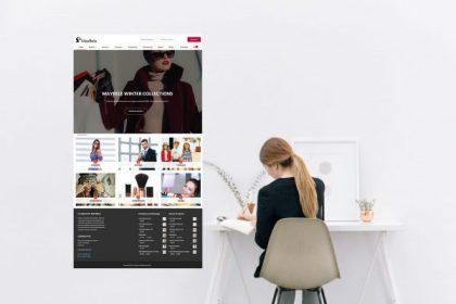 Site Maybele - Comércio de roupa e produtos de beleza