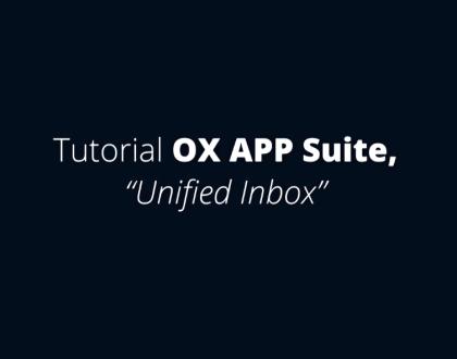 OX APP Suite - Juntar Caixas de Correio