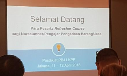 Refresher Course Narsum LKPP