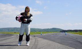 Portrait shot for short film promo Rally Driver