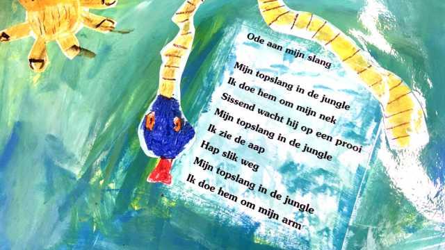 kinderen illustreren gedichten