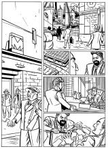Splinter Het Album - p30 zwart-wit laagres - Morris en Zilverberg