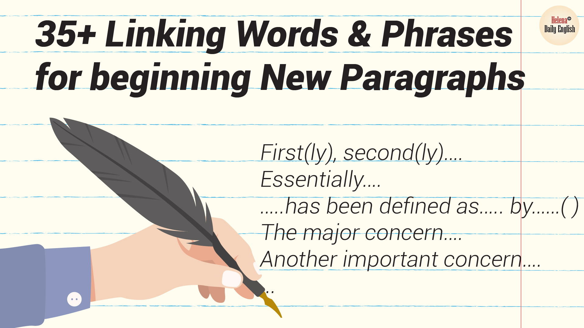 Top 35 Linking Words And Phrases For Beginning New Paragraphs