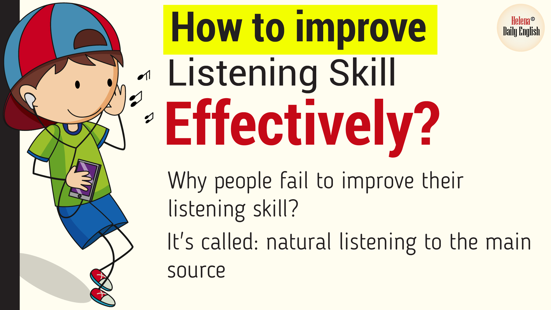 How To Improve Listening Skill Effectively Without