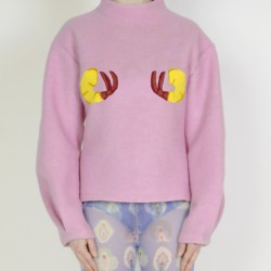 Pink, shrimp, sweater, HelenaFananda, Collection