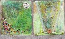 2008- Le voyage des plantes Valérie Métras mail art project