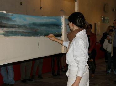 Helena Gath creando il suo orizzonte