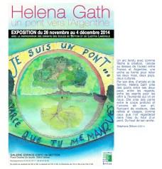 Affiche H. Gath Expo Nov 14 2 a.indd
