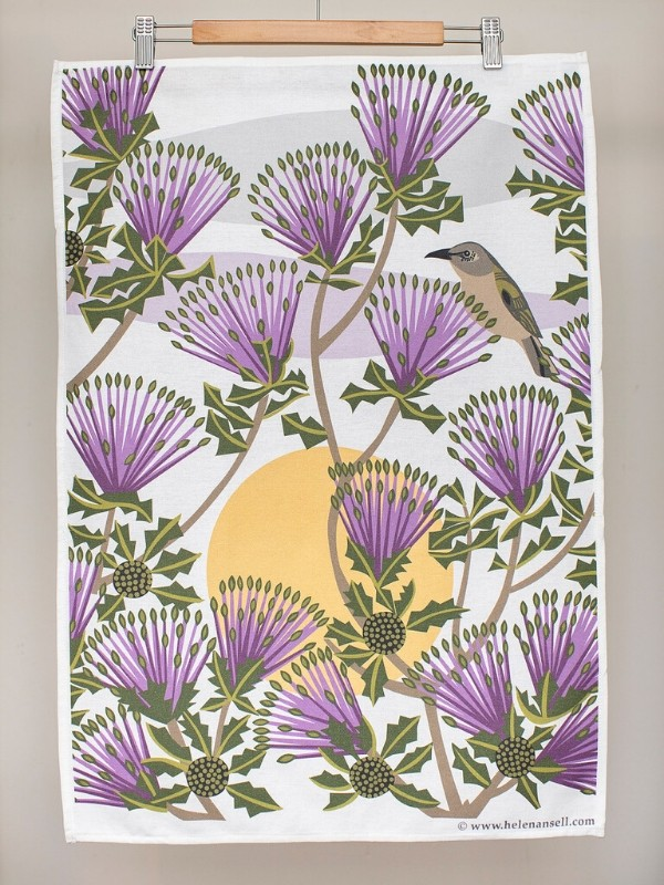 Matchstick Banksia Tea Towel
