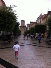 A rainy, but lovely Fondi