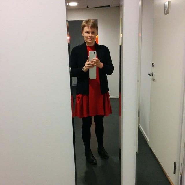 Jag i klänningen