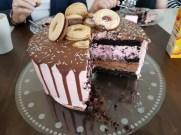 Tårtan inuti