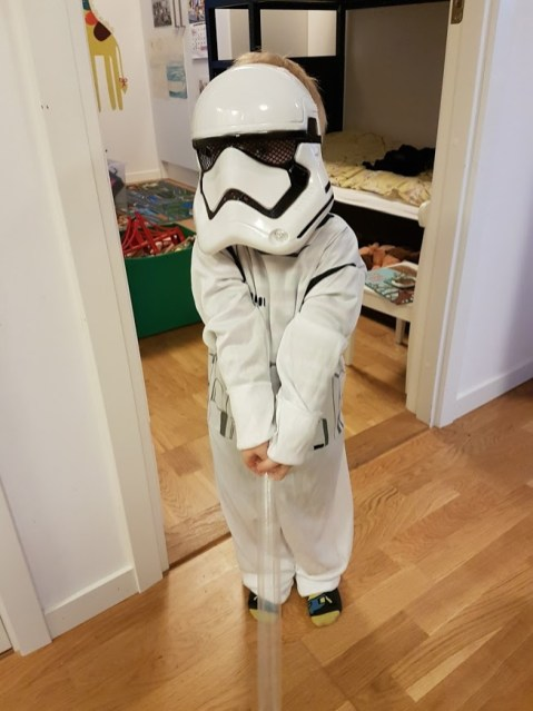 Hjälp, en stormtrooper...