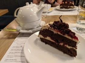 Tårta på Veganic