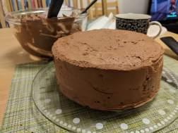 Spacklad tårta