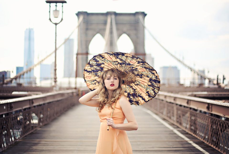 nyc actress turned photographer smiling following her intuition
