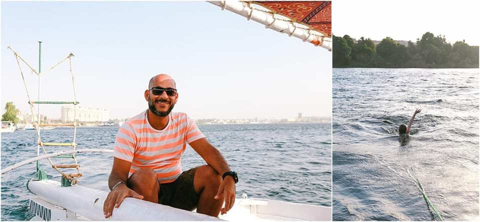felucca odyssey with travel talk tours in the Nile River