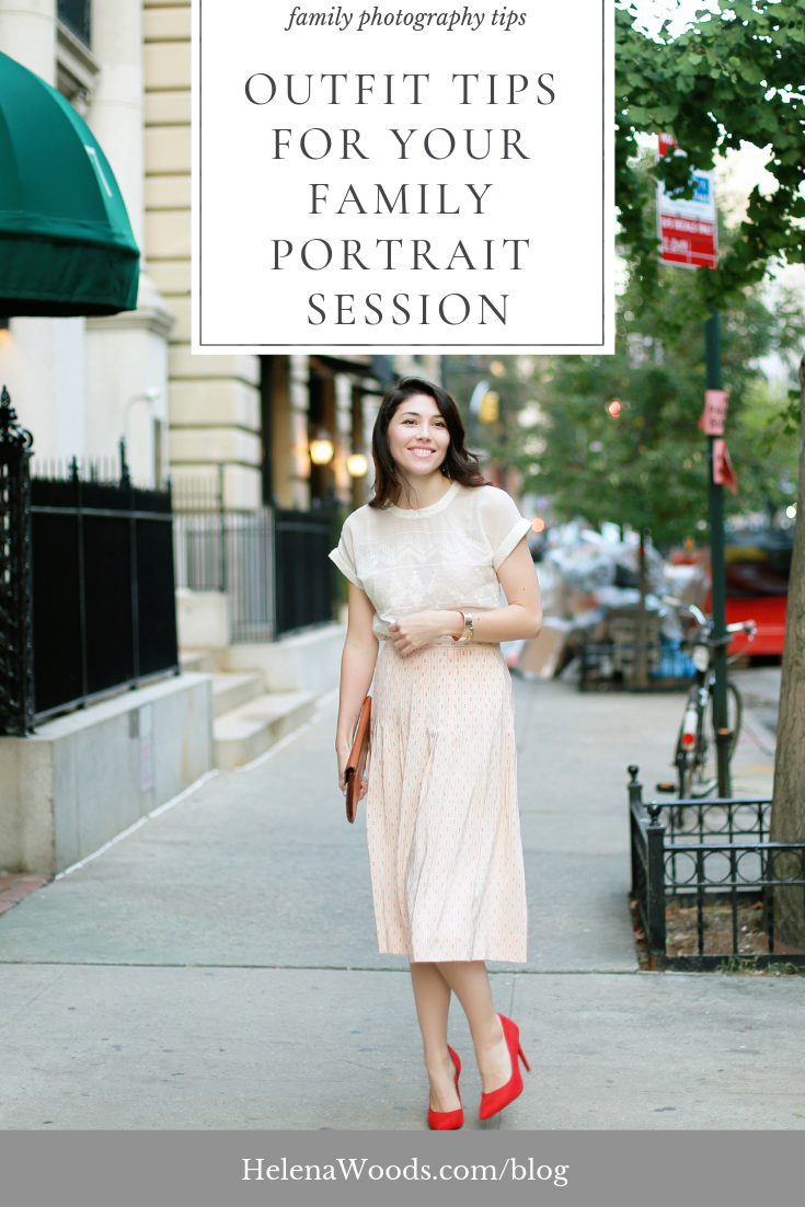 Classic Outfit Ideas for Your Family Portrait Session