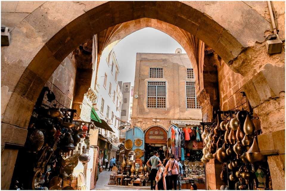 Khan El Khalili Bazaars Cairo Egypt