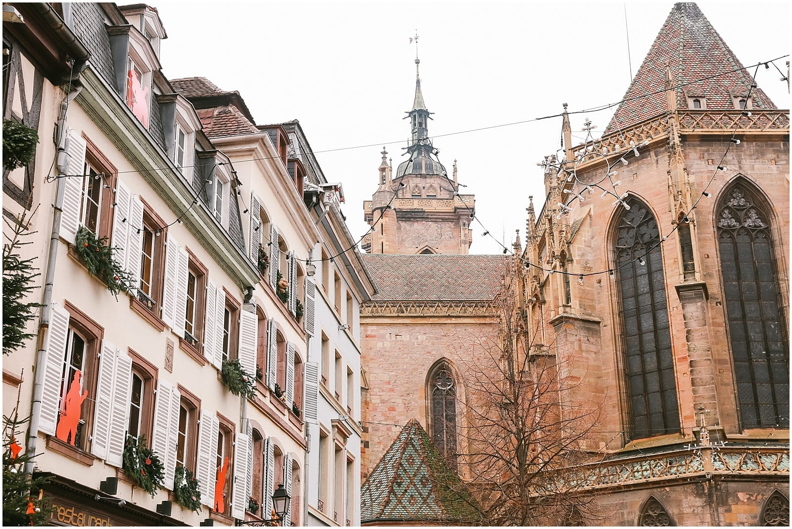 Colmar France Christmas Market French Towns