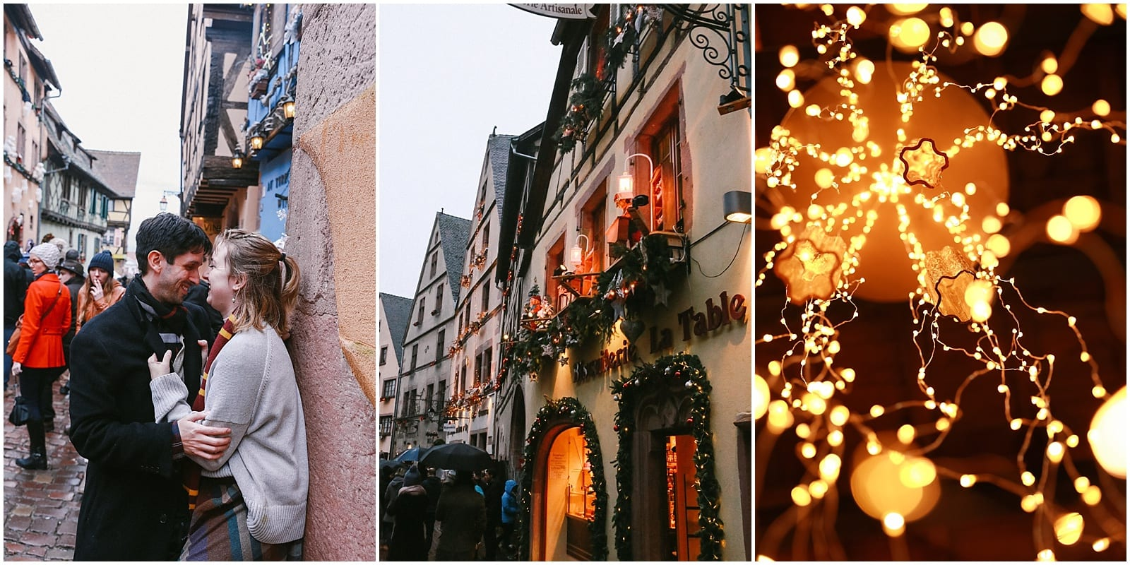 Christmas in Alsace France, French countryside villages of Ribeauville Riquewehr Kaysersberg