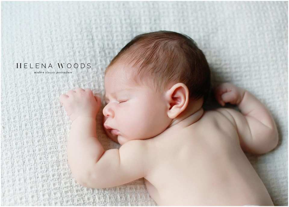 Helena Woods photographs NYC Manhattan newborn lifestyle session