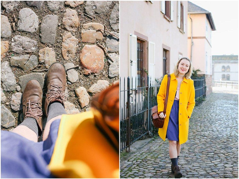 American girl Youtuber Simple Joys living in France Strasbourg Alsace Petite France