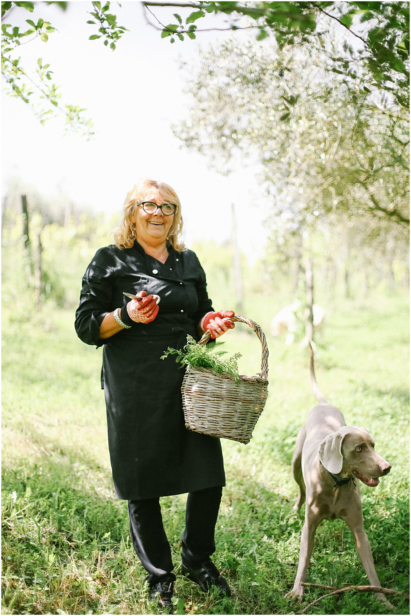 Claudia, our cooking teacher and chef in Zagarolo Italy