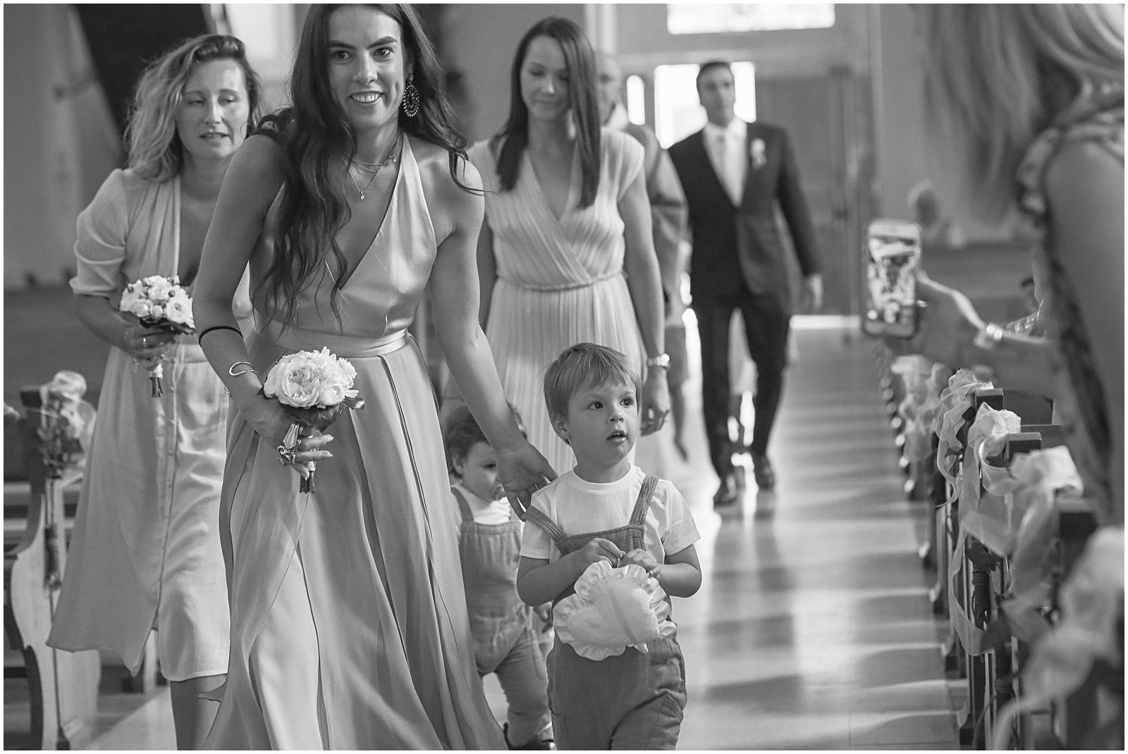 classic church wedding in alsace france by photographer Helena Woods