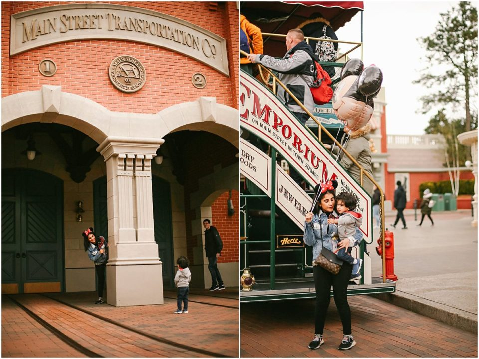 Disneyland Paris family vacation photographer photographs mother and child