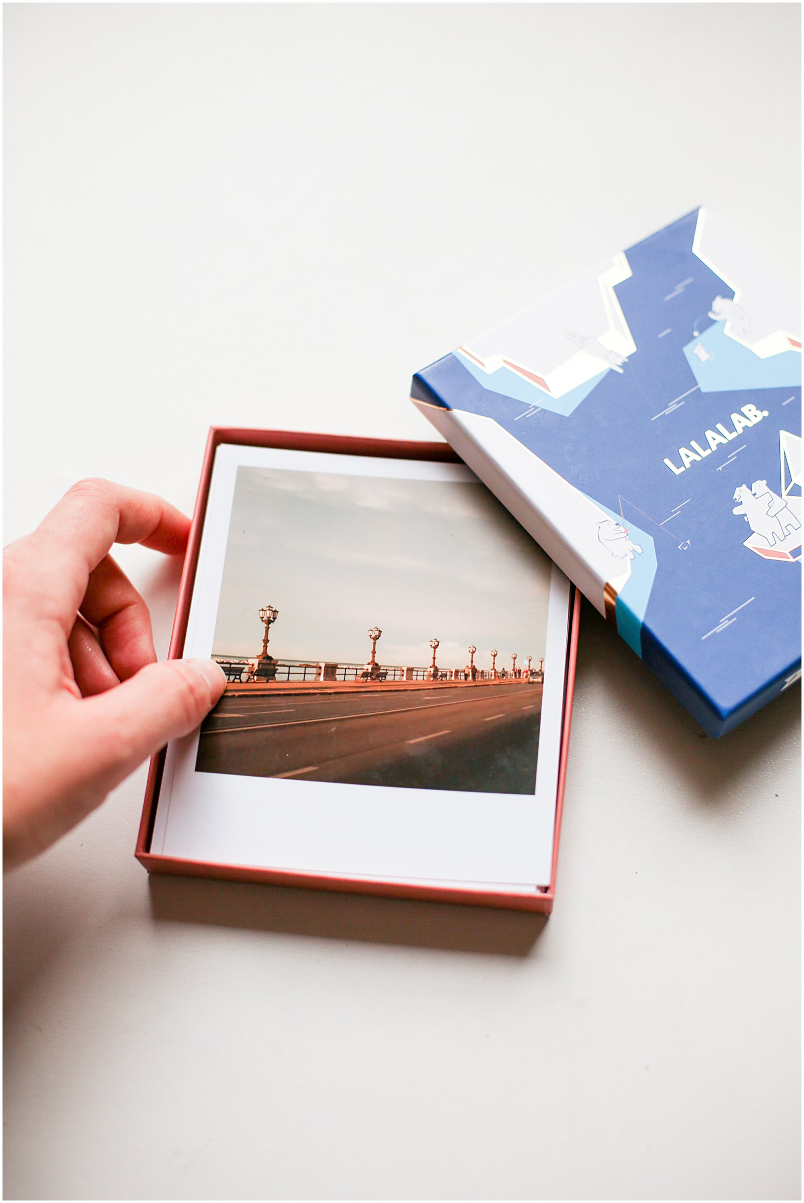 Helena Woods travel photos from LALALAB cute lalabox with printed polaroid photos