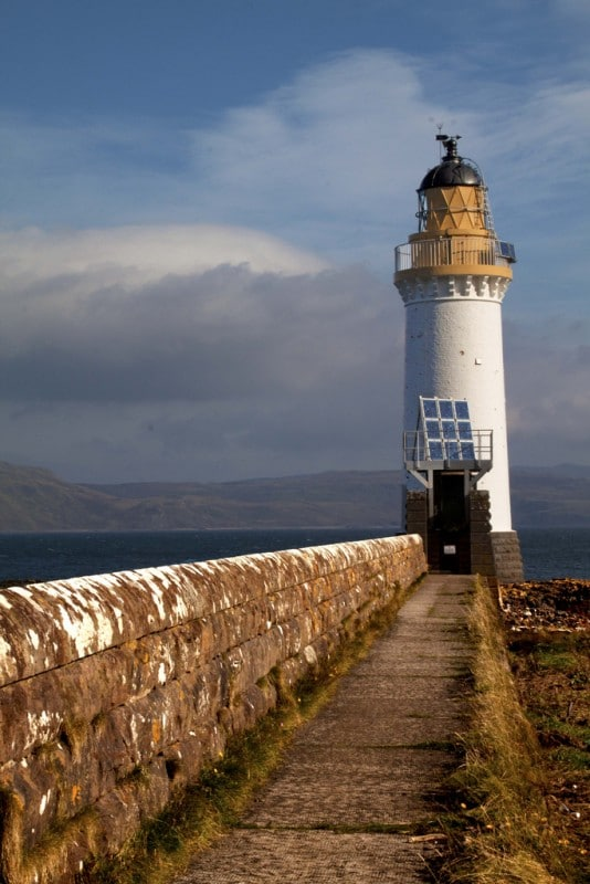 Rubha nan gall lighthouse tobermory Mull Scotland uk