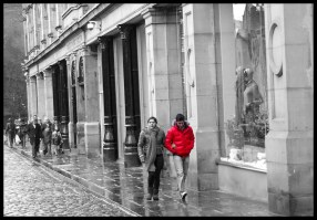 A Rainy Day in Manchester