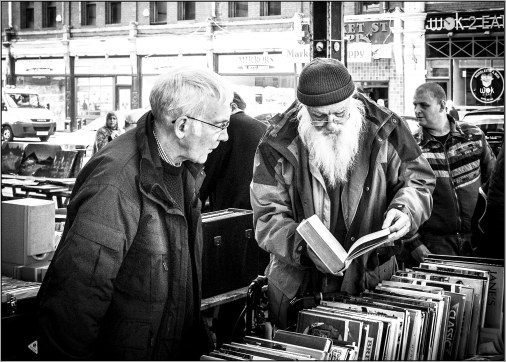 bookseller at preston antique market