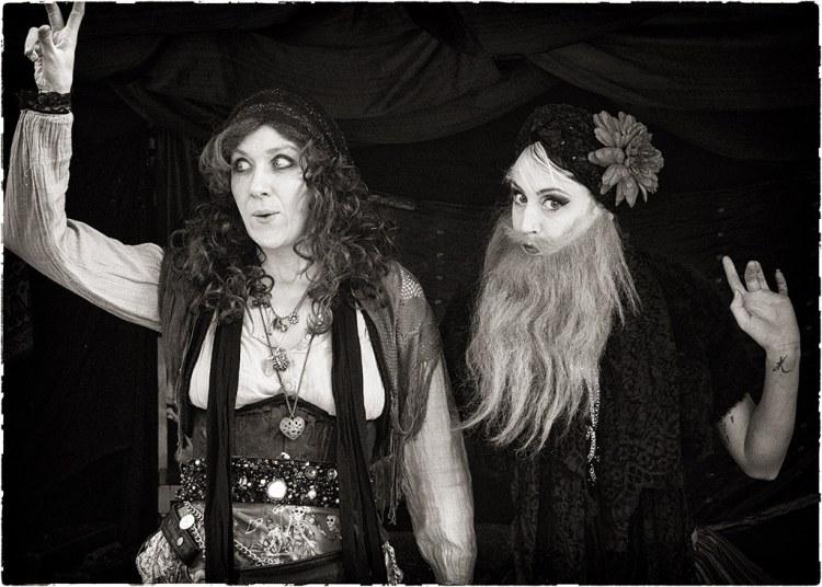 Bearded lady & friend 2 WEB