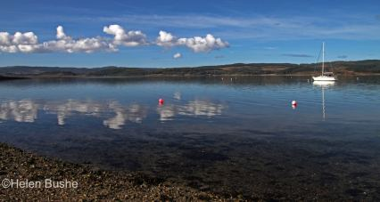 Loch Fyne with Red Buoy