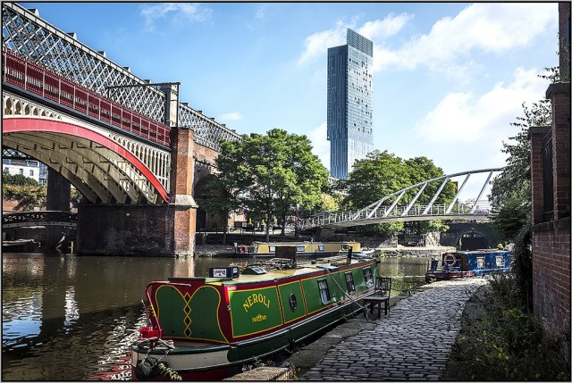 View of Beetham Tower