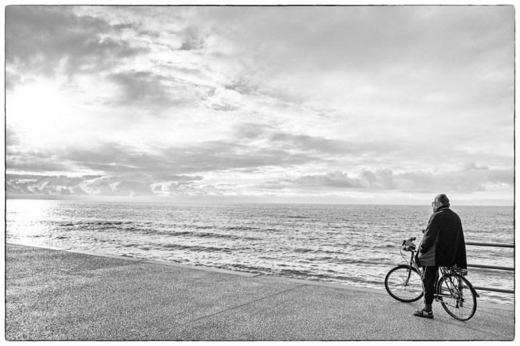 A Man on a Bike