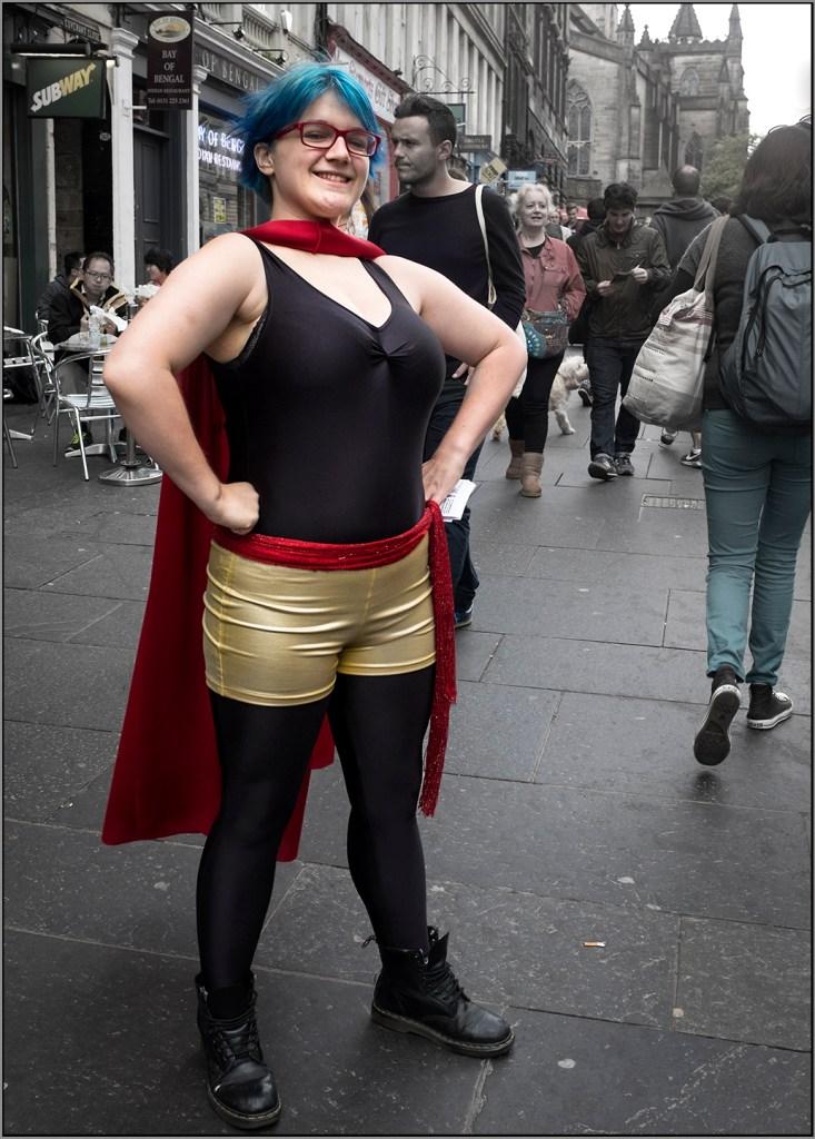supergirl Edinburgh fringe festival
