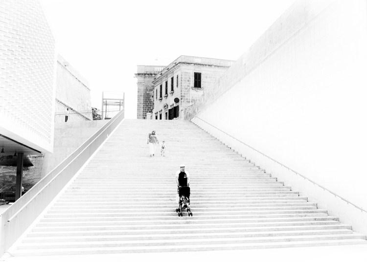 Valletta minimalist high-key