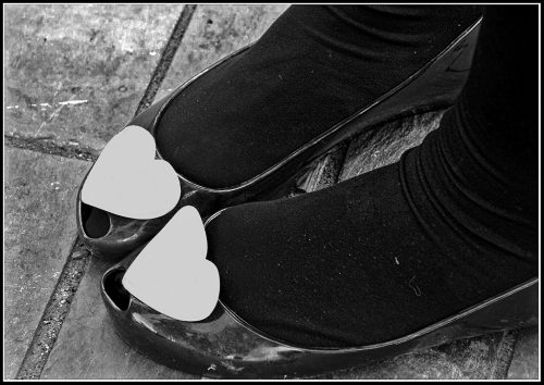 B&W feet &shoes