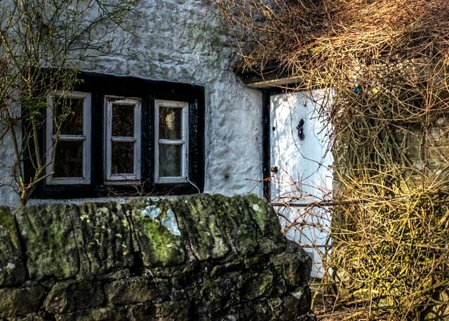 Scorton village door