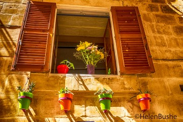 Malta L'Isla window shutters