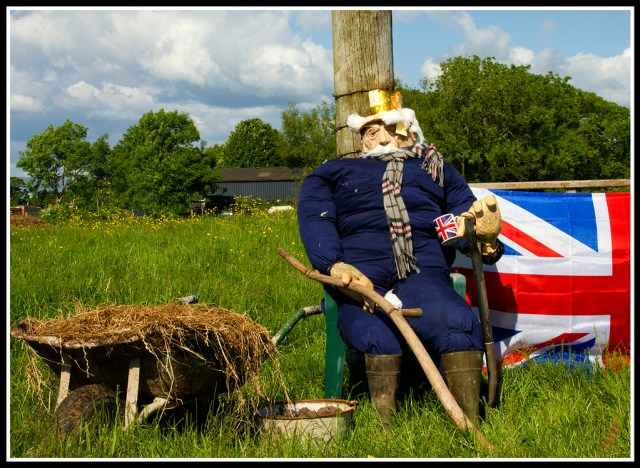 Catforth Scarecrow festival