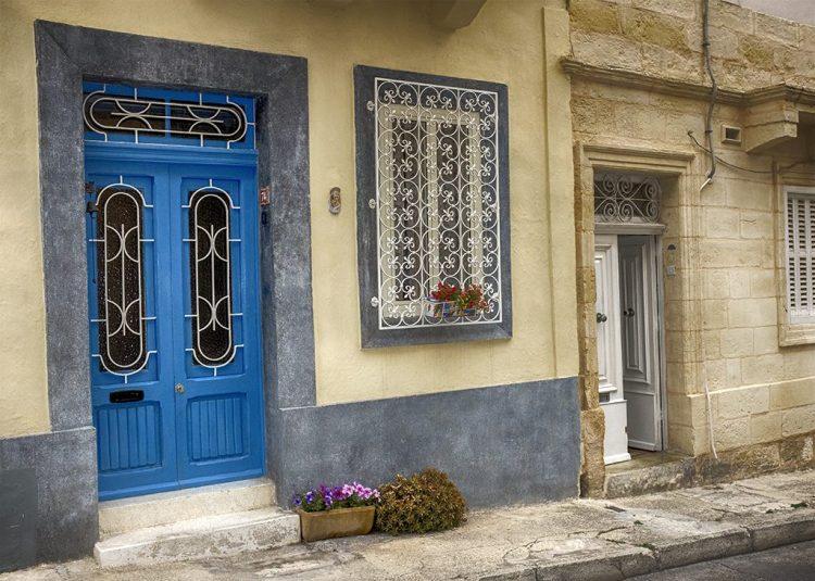 Blue Double Door 2