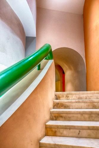 Green Handrail