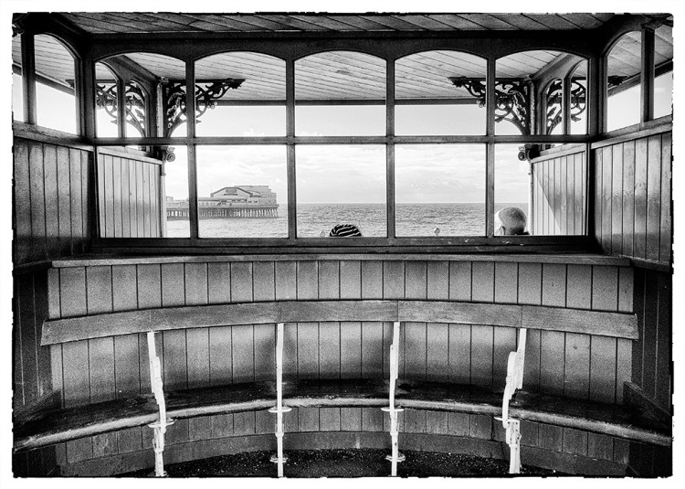 Looking out to Sea Blackpool Fylde coast